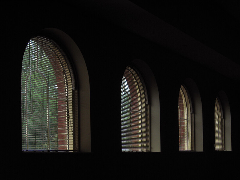 Windows with Rounded Arches
