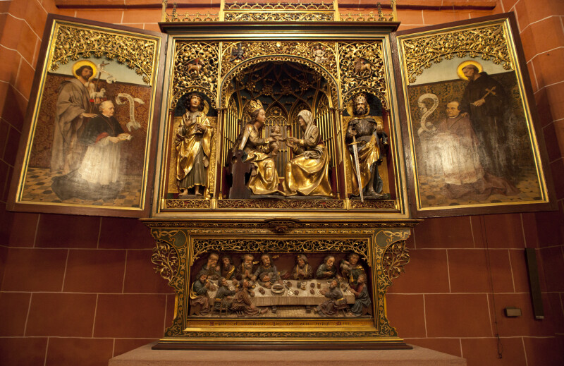 Winged Altarpiece at Frankfurt Cathedral
