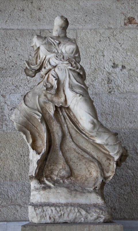 Winged Victory at the Ancient Agora Museum