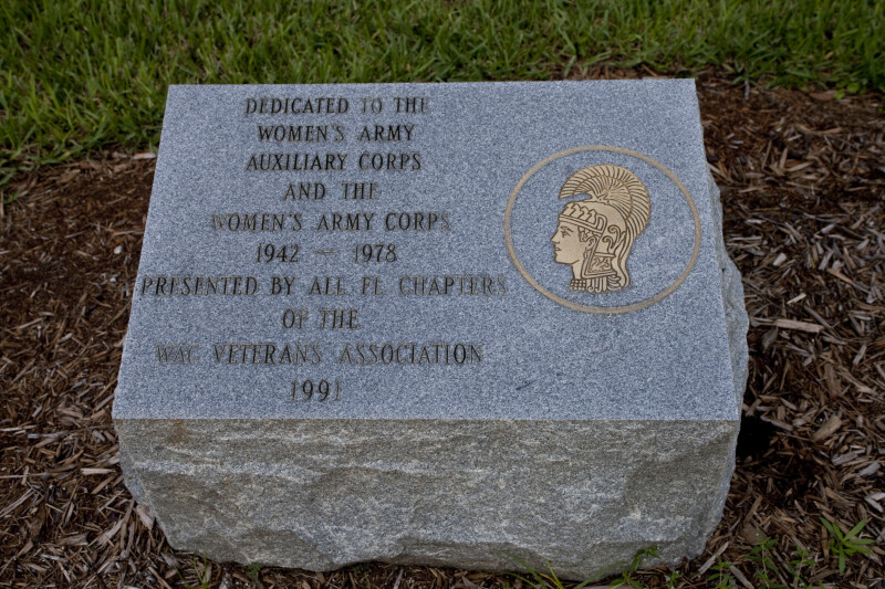 Women's Army Corps Plaque