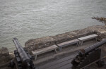 Wooden Benches on the Gun Deck