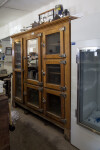 Wooden Cabinet and Freezer in the Castolon Store