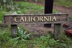 Wooden California Sign