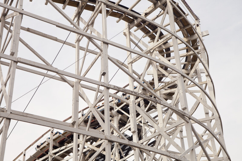 Wooden Coaster Supports