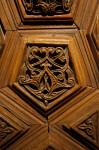Wooden Door of a Mimber Close-Up