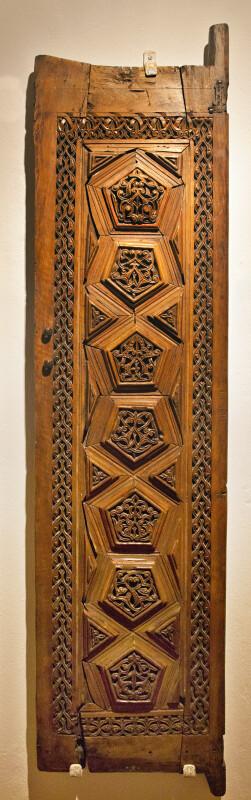 Wooden Door of a Mimber