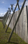 Wooden Fence at Fort Caroline National Memorial