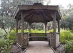Wooden Gazebo at the Washington Oaks Gardens State Park