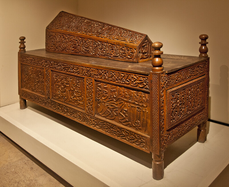 Wooden Sarcophagus from the Seljuk Period