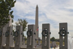 World War Two Memorial and Washington Monument