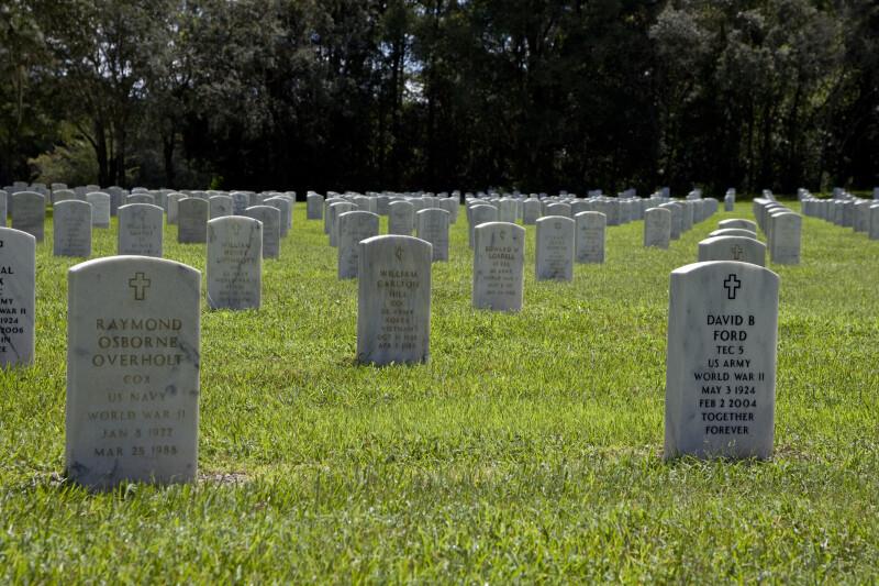 World War Two Veteran's Graves