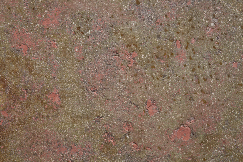 Worn Pink Painted Concrete