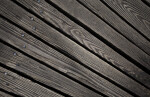 Worn, Wooden Planks with Nails