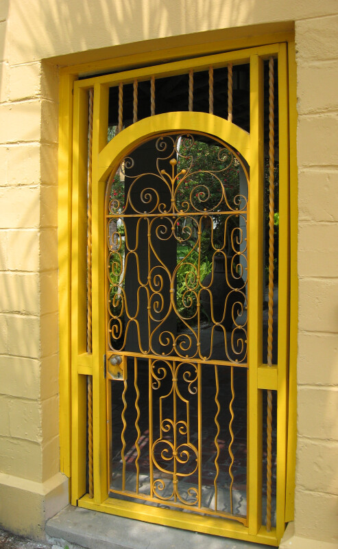 Yellow-Gated Doorway
