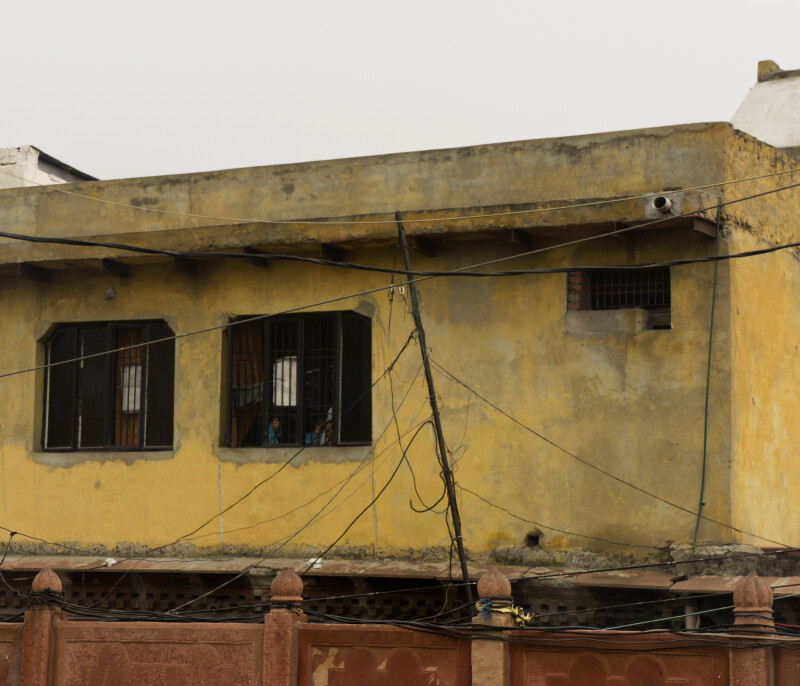 Yellow Indian Building