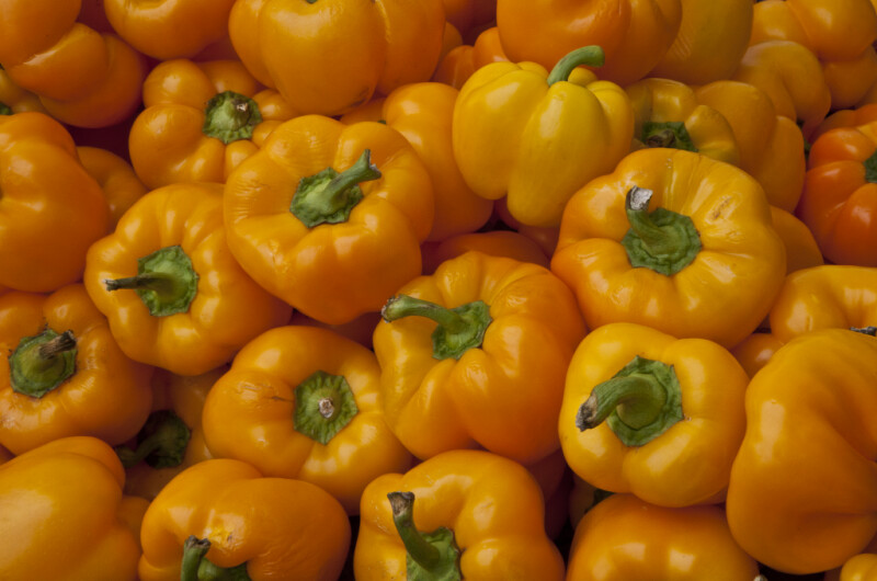 Yellow-Orange Bell Peppers