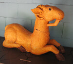 Yellow Ram Statue