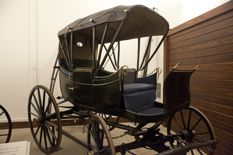 Yet Another View of George Rapp's Carriage