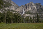 Yosemite Falls and Yosemite Point