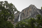 Yosemite Point and Upper Yosemite Falls