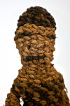 Zimbabwe Figure Made from the Fiber of a Baobab Tree (Close Up)
