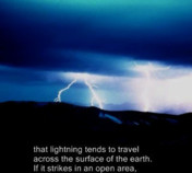 Roaming Rocky: Lightning Safety-Captioned Version