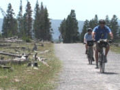 Bicycling in Yellowstone