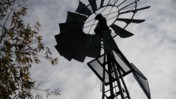 Windmill Spinning Clockwise