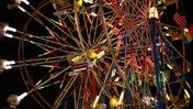 Ferris Wheels at Night