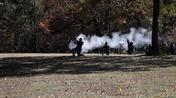 Rifle Fire in Uniform Pattern