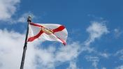 Wind-Blown Flag
