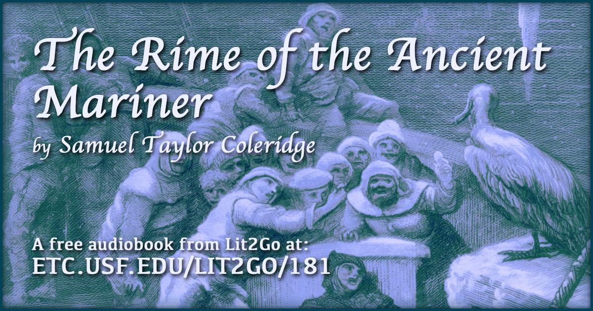 The Rime Of The Ancient Mariner Samuel Taylor Coleridge Lit2go Etc