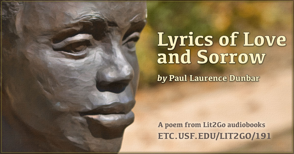analysis of the poem songs of sorrow