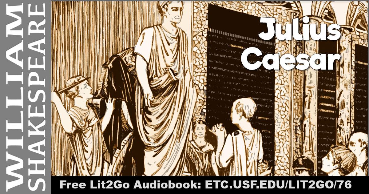mark antonys eulogy of julius caesar