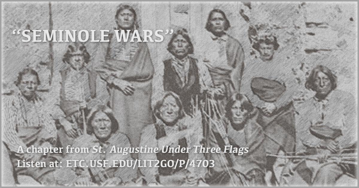 St  Augustine: Seminole War