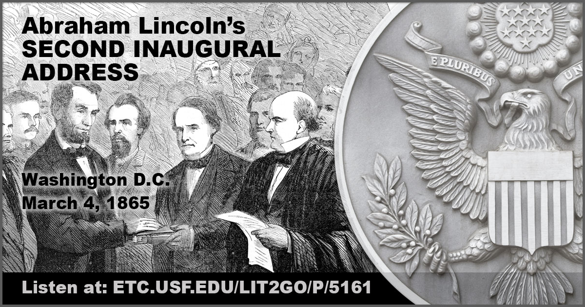lincolns 2nd inaugural address Lincoln's greatest speech frederick douglass called it a sacred effort, and lincoln himself thought that his second inaugural, which offered a theodicy of the civil war, was better than the.