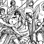 a comparison between agamemnon and achilles in the epic the iliad Achilles vs hector in the iliad at one point in the epic achilles addressed agamemnon in this differences between audio lingual and.