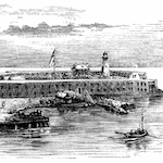 At the Dry Tortugas During the War