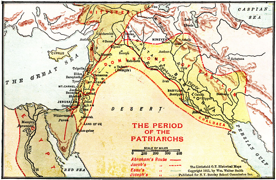 Jpg - Map of egypt in old testament times