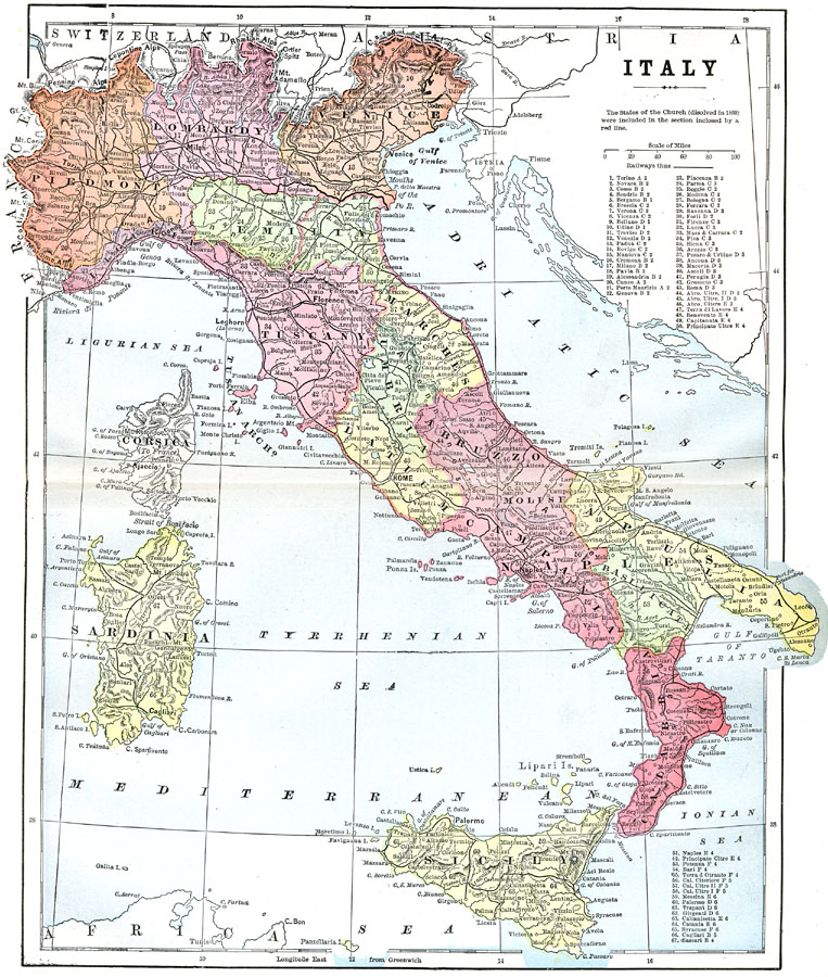 Page Map Site: Italy