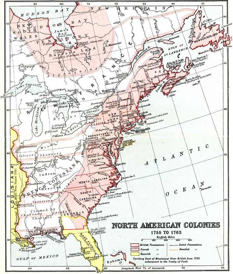 North American Colonies