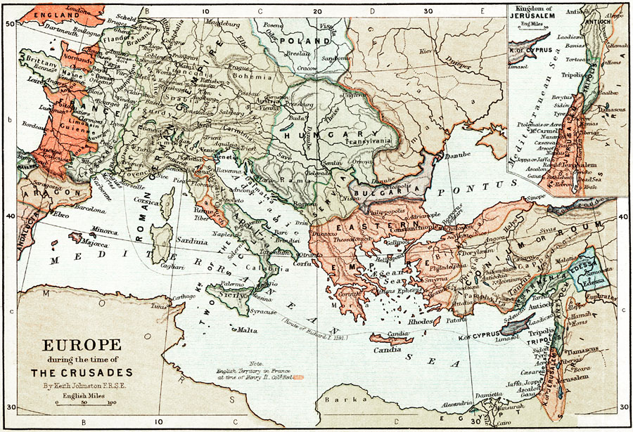 a history of the crusade in europe The crusades in the middle ages were a series of wars that the christians of europe launched against the saracens saracens was a term that the crusaders used to describe a muslim the crusades began in 1905 prompted by pope claremont's declaration at the council of claremont, which called for christians across europe to wage a holy war.