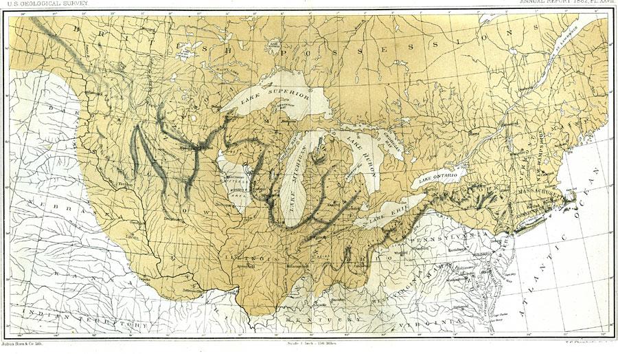 The Terminal Moraine Region Of North America