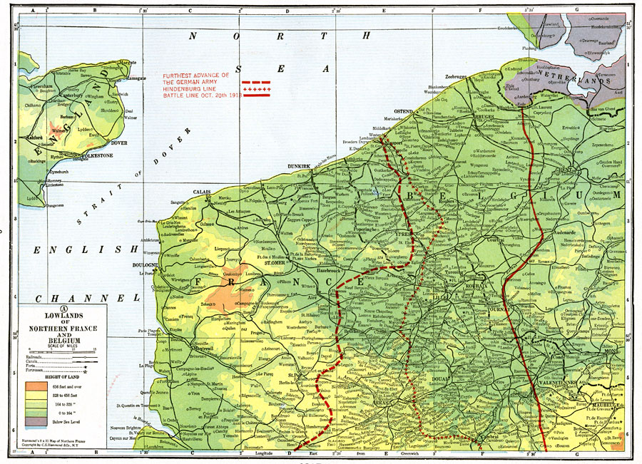 Map Of North Of France.Map Page