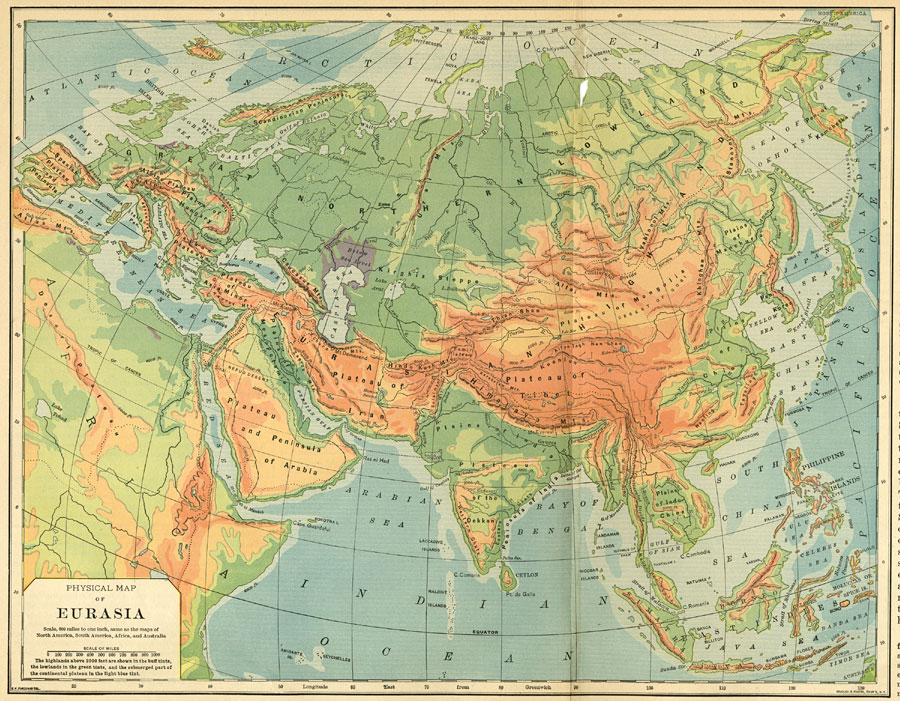 Blank Map Of Russia And Northern Eurasia Information Site - Blank map of eurasia