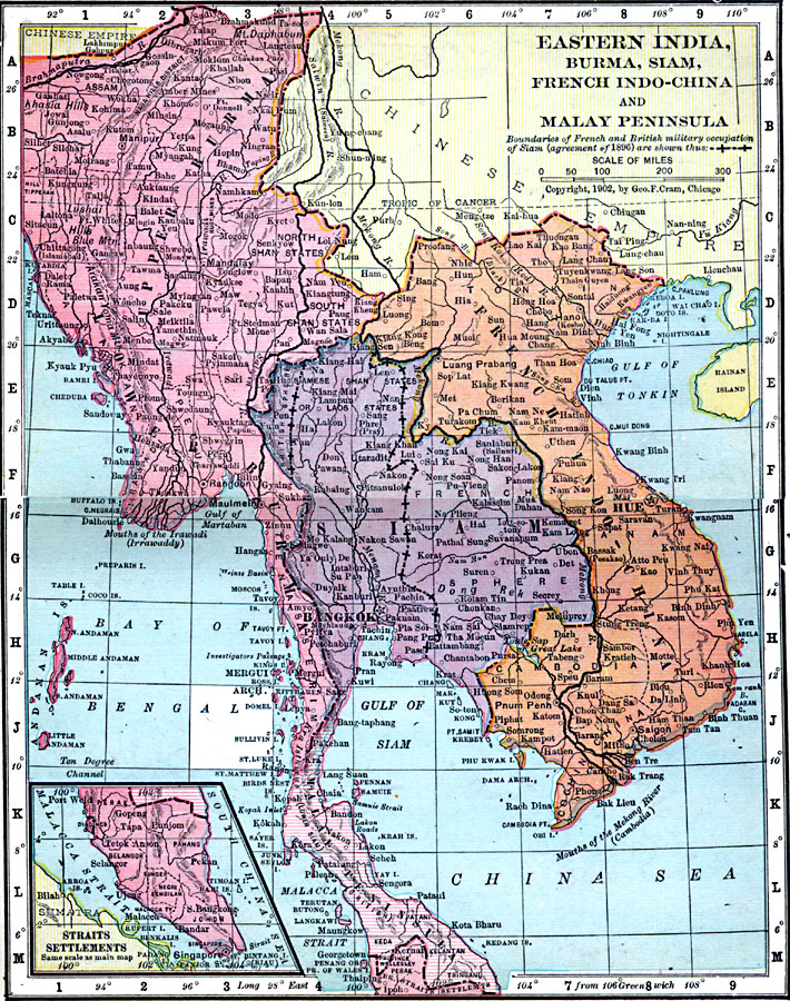 Eastern india burma siam french indo china and malay peninsula gumiabroncs Image collections