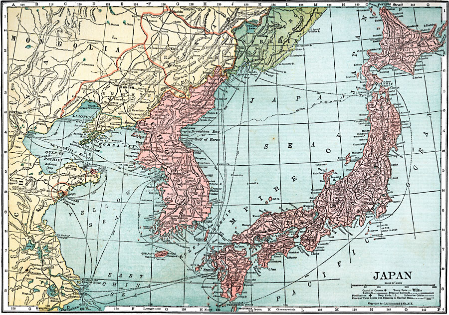 Jpg - Japan map 1920