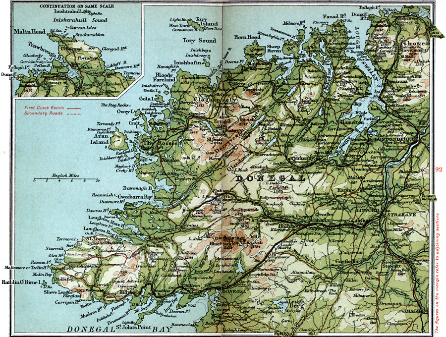 County Donegal on