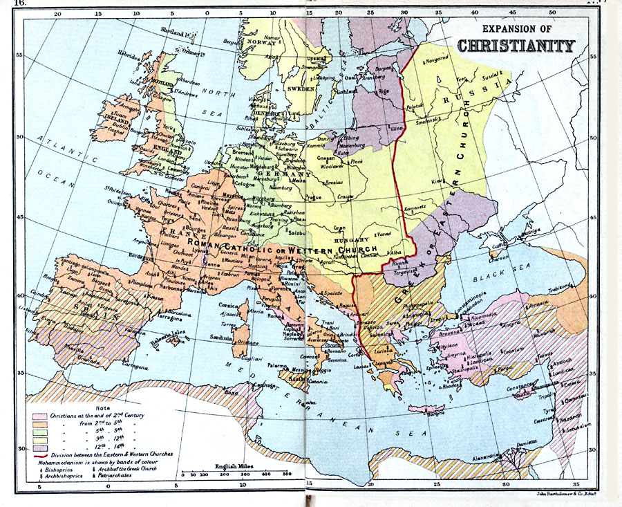 1779g expansion of christianity 1st century14th century ad gumiabroncs Gallery