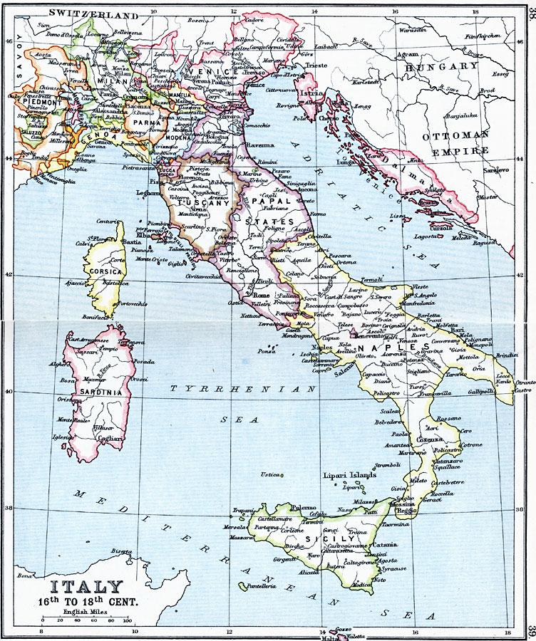Italija Mapa Google Superjoden